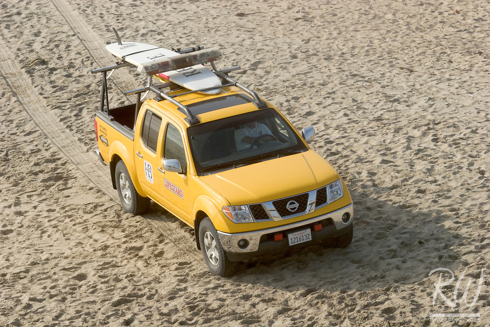 Lifeguard Patrol Truck, Huntington Beach, California