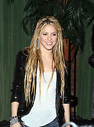 9  November 2009- New York, NY- Shakira at the launch of Shakira's new album release ' She Wolf ' and celebration of her 2009  issue of Rolling Stone Magazine Cover held at The Bowery Hotel on November 9, 2009 in New York City. Photo Credit: Terrence Jennings/Sipa