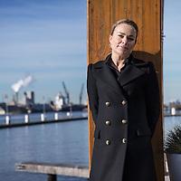 Nederland, Amsterdam, 16 februari 2016.<br /> Lena Olivier, zus van de in 2014 vermoorde Miranda Olivier uit Leeuwarden. Per 1 januari 2016 is zij aangesteld als commercieel directeur van VNU Vacature Media. <br /> <br /> Foto: Jean-Pierre Jans
