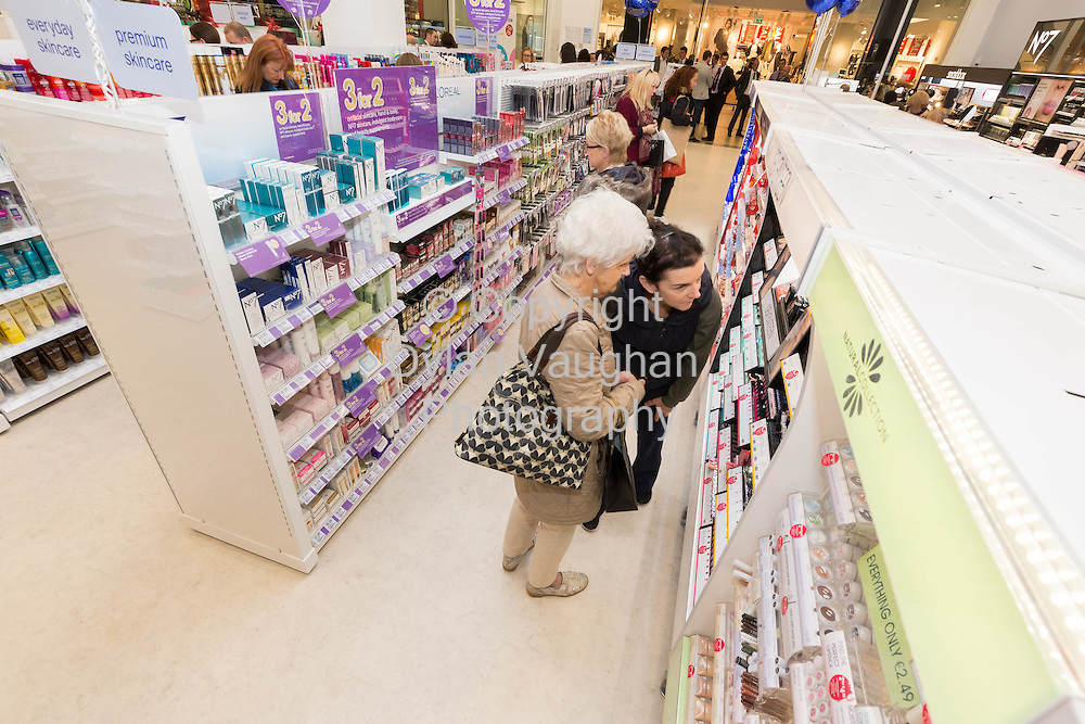 Repro free No Charge for Repro<br /> 1-10-14<br /> <br />  <br /> Pictured at the official opening of the new Boots store at Mac Donagh Junction Shopping Centre in Kilkenny on the 1st of October was shoppers.<br /> <br /> <br /> <br /> <br /> Picture Dylan Vaughan