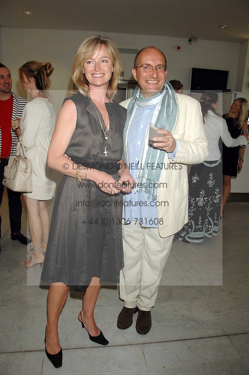 KIT & KATIE HESKETH-HARVEY at a reception hosted by Vogue magazine to launch photographer Tim Walker's book 'Pictures' sponsored by Nude, held at The Design Museum, Shad Thames, London SE1 on 8th May 2008.<br />