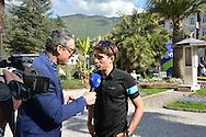 40a Edizione del Giro del Trentino Melinda conferenza Stampa degli Atleti,Mikel Landa, Arco 18 Aprile 2016 © foto Daniele Mosna