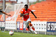 Blackpool's Bright Osayi-Samuel during the EFL Sky Bet League 2 match between Blackpool and Exeter City at Bloomfield Road, Blackpool, England on 6 August 2016. Photo by Craig Galloway.
