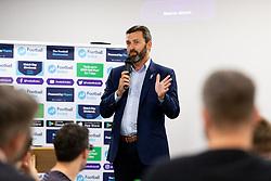 - Ryan Hiscott/JMP - 11/10/2018 - FOOTBALL - Memorial Stadium - Bristol, England - Football Index Q & A Session with Tom Lockyer and Tommy Widdrington