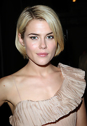 Rachael Taylor at the Donna Karan show at  New York Fashion Week, Monday, 10th  September 2012. Photo by: Stephen Lock / i-Images