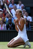 Tennis<br /> Foto: imago/Digitalsport<br /> NORWAY ONLY<br /> <br /> 01.07.2004  <br /> <br /> Maria Sharapova - Russland