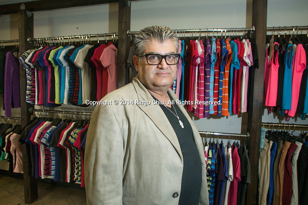 Shlomo Meiri, founder of ecommerce site Le Jolie, which sells luxury clothing and accessories at a discounted price.<br /> (Photo by Ringo Chiu/PHOTOFORMULA.com)