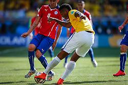 Jô na partida entre Brasil x Chile, válida pelas oitavas de final da Copa do Mundo 2014, no Estádio Mineirão, em Belo Horizonte. FOTO: Jefferson Bernardes/ Agência Preview