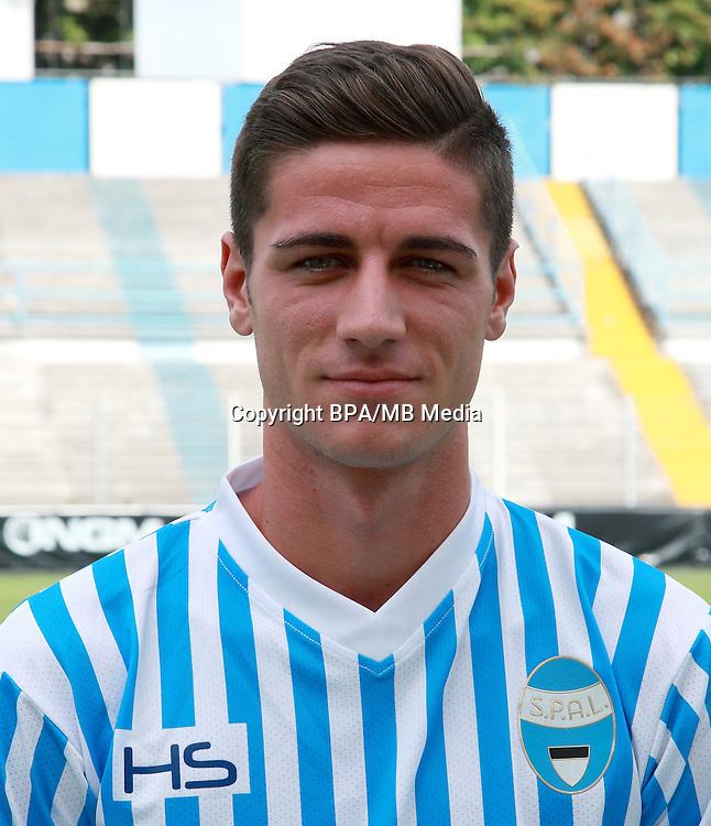 Italian League Serie B -2016-2017 / <br /> ( S.P.A.L 2013 ) - <br /> Paolo Ghiglione