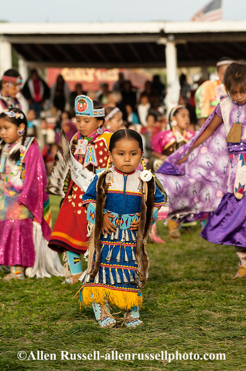 Powwows, Native Americans, Kids, Jingle Dancer, Crow Fair, Crow Indian Reservation, Montana