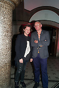 Christopher Kane; Giles Deacon, DINNER TO CELEBRATE THE ARTISTS OF FRIEZE PROJECTS AND THE EMDASH AWARD 2012 hosted by ANDREA DIBELIUS founder EMDASH FOUNDATION, AMANDA SHARP and MATTHEW SLOTOVER founders FRIEZE. THE FORMER CENTRAL ST MARTIN'S SCHOOL OF ART AND DESIGN, SOUTHAMPTON ROW, LONDON WC1. 11 October 2012