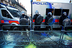 © under license to London News Pictures.  Picture dated 30/11/10 The government is planning to cut its funding for the police by 20% by 2015 it announced today (02/03/11). Photo credit should read: Olivia Harris/ London News Pictures