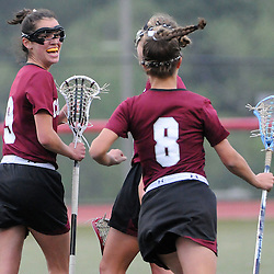 Staff photos by Tom Kelly IV<br /> Garnet Valley defeated Conestoga by a score of 13 - 11 in girls lacrosse Wednesday afternoon May 28, 2014 in round 1 of the PIAA state playoffs.  The game was held at a neutral site, West Chester East high school.