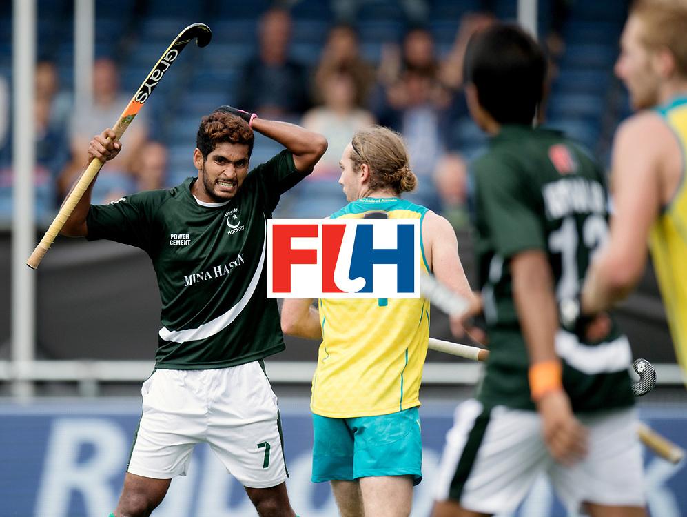 BREDA - Rabobank Hockey Champions Trophy<br /> Australia - Pakistan<br /> Photo: QADIR Muhammad.<br /> COPYRIGHT WORLDSPORTPICS FRANK UIJLENBROEK