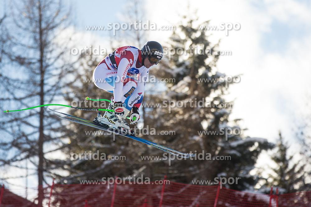 28.12.2013, Stelvio, Bormio, ITA, FIS Ski Weltcup, Bormio, Abfahrt, Herren, 2. Traininglauf, im Bild Sandro Viletta (SUI) // Sandro Viletta of Switzerland in action during mens 2nd downhill practice of the Bormio FIS Ski Alpine World Cup at the Stelvio Course in Bormio, Italy on 2012/12/28. EXPA Pictures © 2013, PhotoCredit: EXPA/ Johann Groder