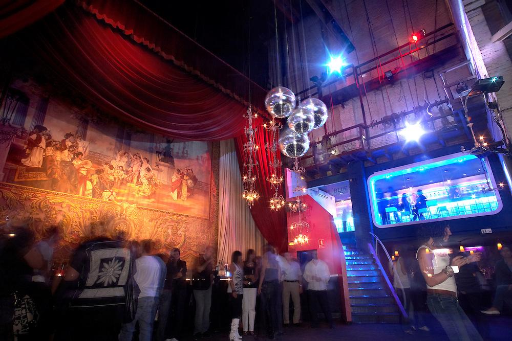 Setembre, 19th, 2009. Local Platea. Local d'oci nocturn, antic teatre, a Girona.