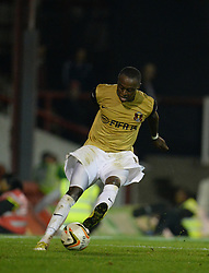 Leyton Orient's Moses Odubajo   - Photo mandatory by-line: Mitchell Gunn/JMP - Tel: Mobile: 07966 386802 23/09/2013 - SPORT - FOOTBALL -  Griffin Park - London - Brentford v Leyton Orient - Sky Bet League One