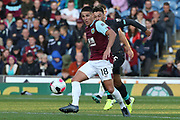 Burnley midfielder Ashley Westwood (18) during the Premier League match between Burnley and Liverpool at Turf Moor, Burnley, England on 31 August 2019.