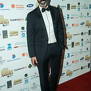 Nihal Arthanayake Host of Asian Business Awards attands the 2017 Asian Business Awards,London,UK. by See Li