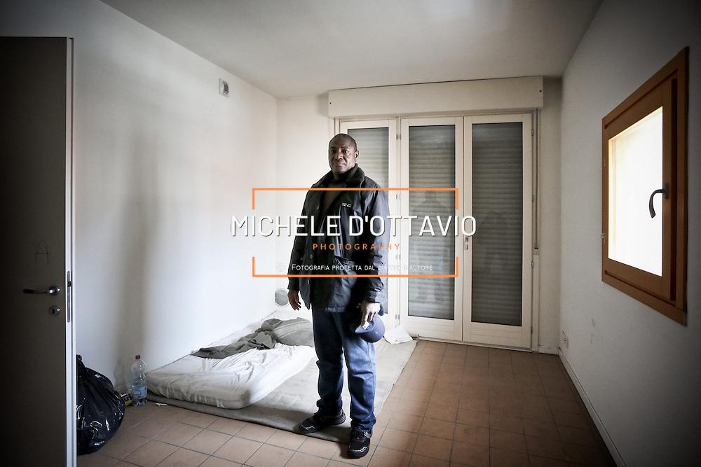 Palazzine dell'ex Villaggio Olimpico di Torino occupate nel 2013 da circa 600 rifugiati.