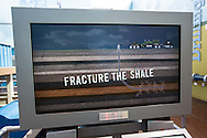 Video of a  Chesapeake  frack job in the Fort Worth Museum of Science and History in Texas.
