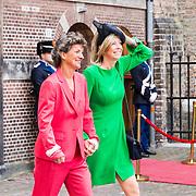 NLD/Den Haag/20190917 - Prinsjesdag 2019, Kajsa Ollongren en partner Irene van den Brekel