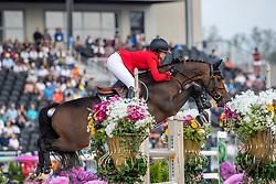 POLLE Karen (JPN), With Wings<br /> Tryon - FEI World Equestrian Games™ 2018<br /> FEI World Individual Jumping Championship<br /> Third cometition - Round A<br /> 3. Qualifikation Einzelentscheidung 1. Runde<br /> 23. September 2018<br /> © www.sportfotos-lafrentz.de/Stefan Lafrentz