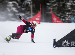 TUDEDESHEVA E. during the FIS snowboarding world cup race in Rogla (SI / SLO) | GS on January 20, 2018, in Jasna Ski slope, Rogla, Slovenia. Photo by Urban Meglic / Sportida