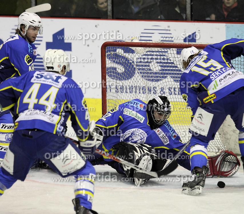28.02.2010, Dom sportova, Zagreb, CRO, EBEL, KHL Medvescak Zagreb vs Graz 99ers, im Bild  Moser Medical. EXPA Pictures © 2010, PhotoCredit: EXPA/ PIXSELL / SPORTIDA PHOTO AGENCY