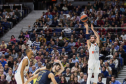 March 2, 2018 - Madrid, Madrid, Spain - Rudy Fernández (R) during Fenerbahce Dogus Istanbul victory over Real Madrid (83 - 86) in Turkish Airlines Euroleague regular season game (round 24) celebrated at Wizink Center in Madrid (Spain). March 2nd 2018. (Credit Image: © Juan Carlos Garcia Mate/Pacific Press via ZUMA Wire)