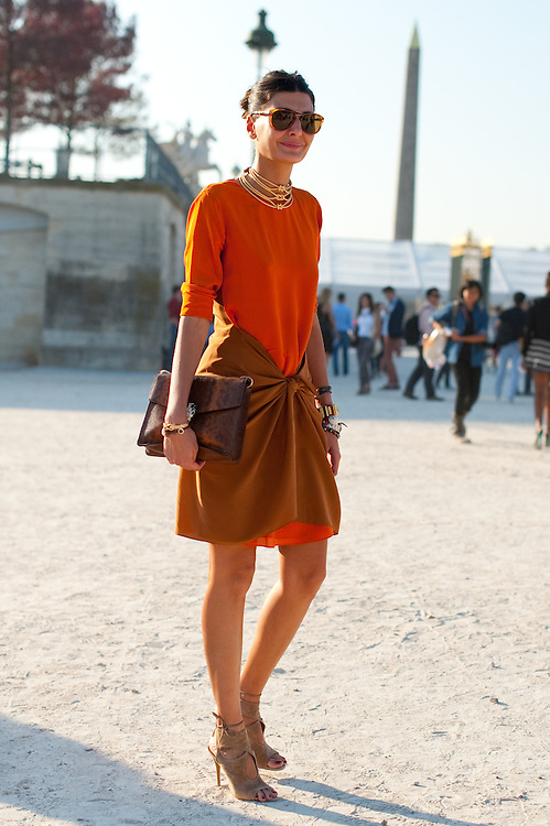 Giovanna Battaglia at Lanvin