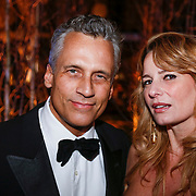 NLD/Amsterdam/20121206 - VIP night Masters of LXRY, Robert Schoemacher en partner Claudia van Zweden