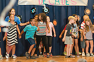 "Middletown, New York - Campers from the YMCA of Middletown's Camp Funshine performed a ""Music Through the Years"" program at the Center for Youth Programs on Aug. 6, 2015."