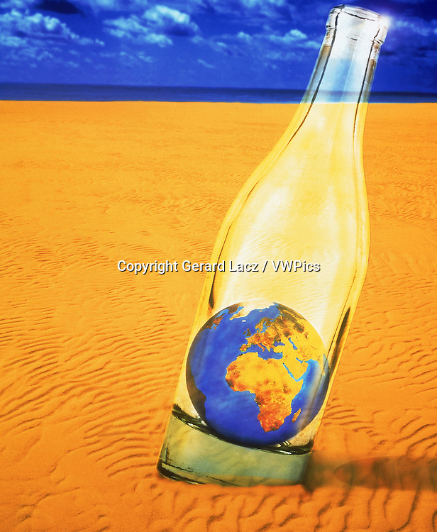 IMAGE SYMBOLIZING DRYNESS AND THE EARTH