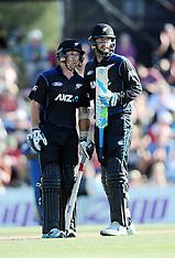 Nelson-Cricket, New Zealand v Sri Lanka 4th ODI