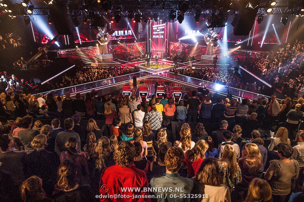 NLD/Hilversum/20131220 - Finale The Voice of Holland 2013, overzicht studio