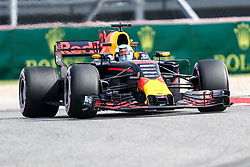 October 20, 2017 - Austin, Texas, U.S - Red Bull Racing driver Daniel Ricciardo (3) of Australia in action before the Formula 1 United States Grand Prix race at the Circuit of the Americas race track in Austin,Texas. (Credit Image: © Dan Wozniak via ZUMA Wire)