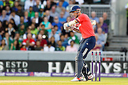 Alex Hales for England during the International T20 match between England and Pakistan at the Emirates, Old Trafford, Manchester, United Kingdom on 7 September 2016. Photo by Craig Galloway.