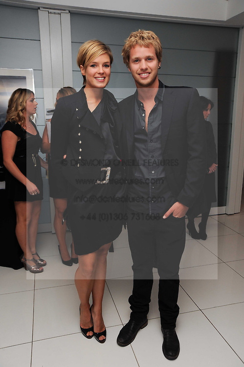 SAM BRANSON and ISABELLA ANSTRUTHER-GOUGH-CALTHORPE at The Reuben Foundation and Virgin Unite Haiti Fundraising dinner held at Altitude 360 in Millbank Tower, London on 26th May 2010.
