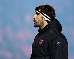 Toulon's Juan Martin Fernandez Lobbe<br /> <br /> Photographer Simon King/Replay Images<br /> <br /> European Rugby Champions Cup Round 6 - Scarlets v Toulon - Saturday 20th January 2018 - Parc Y Scarlets - Llanelli<br /> <br /> World Copyright © Replay Images . All rights reserved. info@replayimages.co.uk - http://replayimages.co.uk