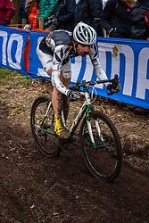Alexander REVELL (64,NZL), 5th lap at Men UCI CX World Championships - Hoogerheide, The Netherlands - 2nd February 2014 - Photo by Pim Nijland / Peloton Photos