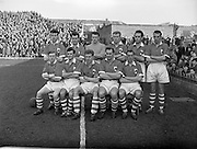 17/03/1958<br /> 03/17/1958<br /> 17 March 1958<br /> Soccer: League of Ireland v Irish League at Dalymount Park, Dublin. The Irish League Team.