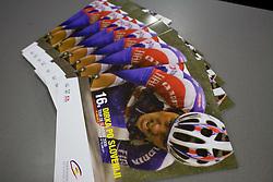 Brochures at day before start of Tour de Slovenie 2009, on June 17 2009, in Koper, Slovenia. (Photo by Vid Ponikvar / Sportida)