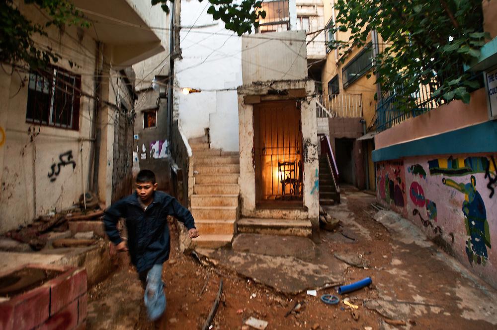 Beirut, Lebanon, October 30, 2010. OMAR YASHRUTI