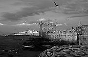 MOROCCO: Essaouira<br /> The walled harbour and ramparts provide a medieval backdrop to the waterfront at this ancient fishing port.Orson Welles' Othello was filmed here and Jimi Hendrix used to hang out here.