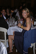 Georgie Leatham, Connaught Square Squirrel Hunt Inaugural Hunt Ball. Banqueting House, Whitehall. 8 September 2005. ONE TIME USE ONLY - DO NOT ARCHIVE  © Copyright Photograph by Dafydd Jones 66 Stockwell Park Rd. London SW9 0DA Tel 020 7733 0108 www.dafjones.com