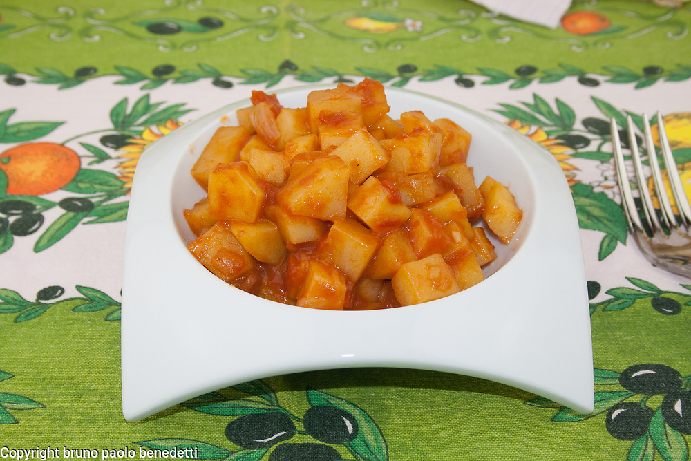 patate in agrodolce