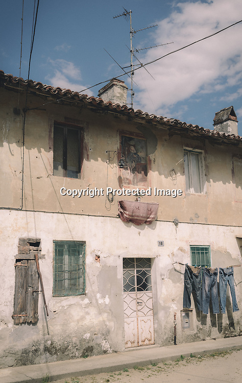 Rural houses in Lombardy region of Italy