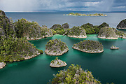 Penemu Island overview<br /> Raja Ampat<br /> Coral triangle<br /> Indonesia