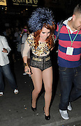 27.JUNE.2011. LONDON<br /> <br /> PALOMA FAITH LEAVING THE O2 SHEPERDS BUSH EMPIRE AFTER WATCHING BEYONCE'S SPECIAL ONE OFF GIG TO LAUNCH HER NEW ALBUM 4.<br /> <br /> BYLINE: EDBIMAGEARCHIVE.COM<br /> <br /> *THIS IMAGE IS STRICTLY FOR UK NEWSPAPERS AND MAGAZINES ONLY*<br /> *FOR WORLD WIDE SALES AND WEB USE PLEASE CONTACT EDBIMAGEARCHIVE - 0208 954 5968*